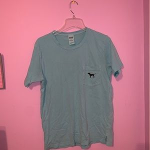 Victorias Secret PINK campus dog tee shirt